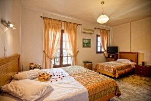 Triple Room, Sunset hotel: Ouranoupolis hotels accommodation rooms beach half board